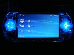 画像1: PSP 十字キー+アクションボタン 単色LEDカスタム